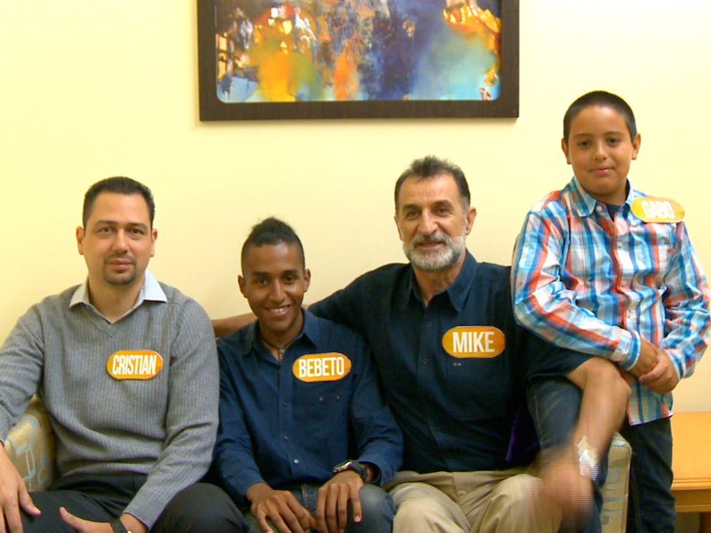 Participantes del programa Recuerda y Gana, programa de Tv conducido ...