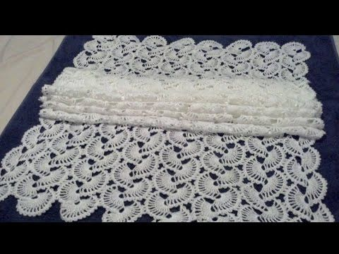 Shawl De Abanicos Crochet Parte 1 De 2 Hoby örgülerim Pinterest