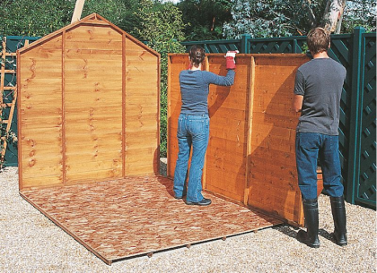 Build Your Wooden Garden Shed Garden Shed Plan And Instructions