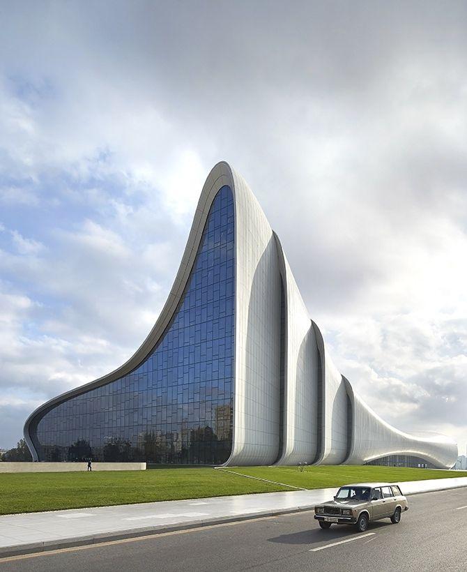 Heydar Aliyev Centre Zaha Hadid Architects Baku Azerbaijan Zaha Hadid Zaha Hadid Design Zaha Hadid Architecture