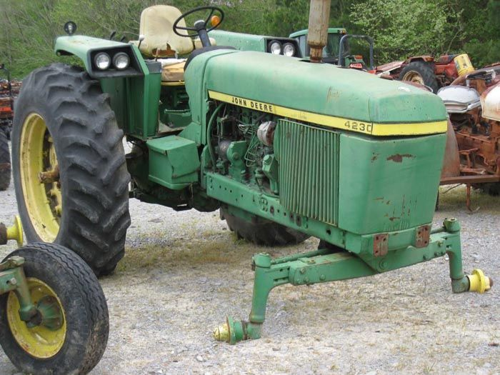 This Tractor Has Been Dismantled For John Deere 4230 Parts