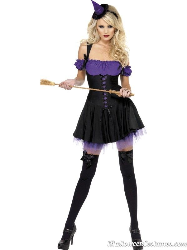 Witch Fancy Dress for Halloween - Halloween Costumes 2013