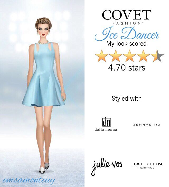 Ice Dancer @covetfashion #covet #covetfashion #covetfashionapp #fashion #covetfall2015 #fall2015 #womensfashion #icedancer #dancer #LiamFahy #HalstonHeritage #DallaNonna #JennyBird #JulieVos