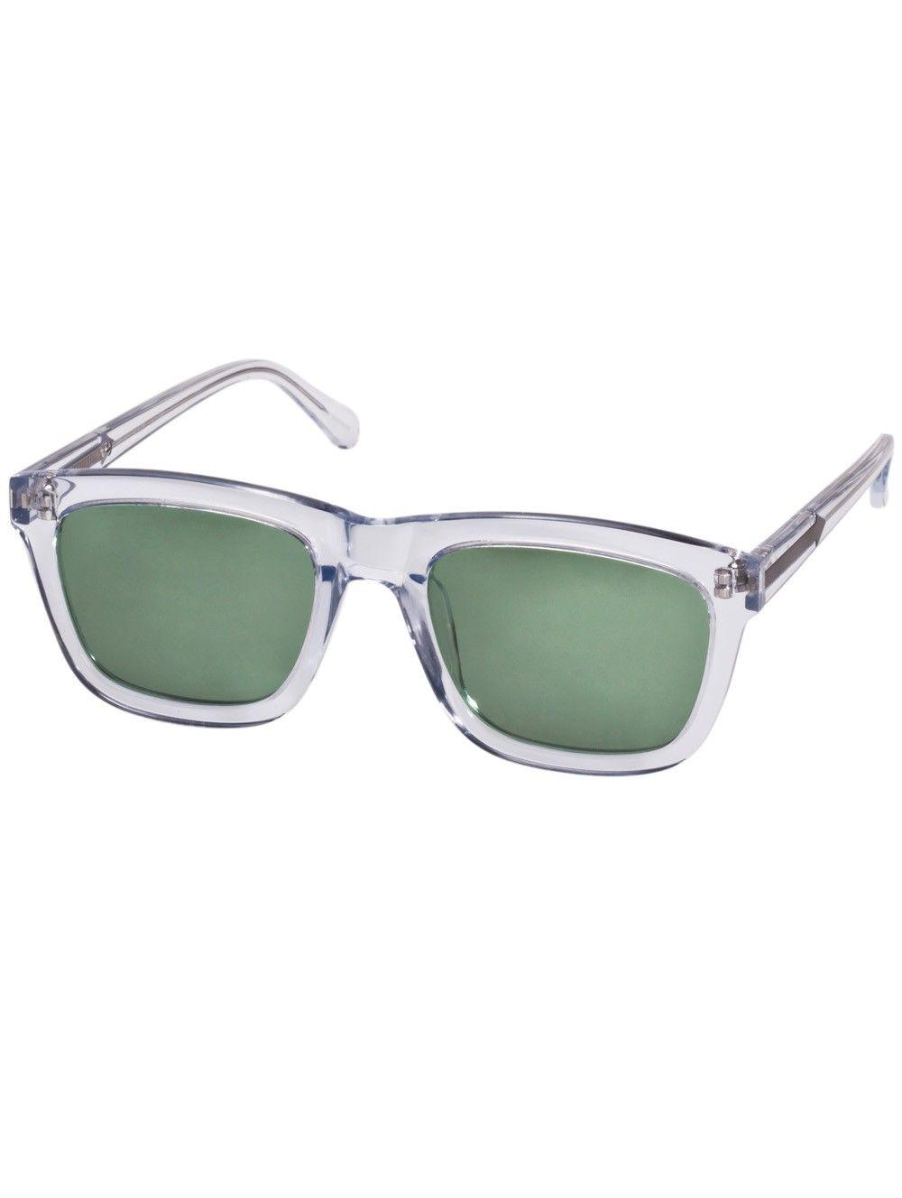 a917f29d0cd clear deep freeze sunglasses by karen walker