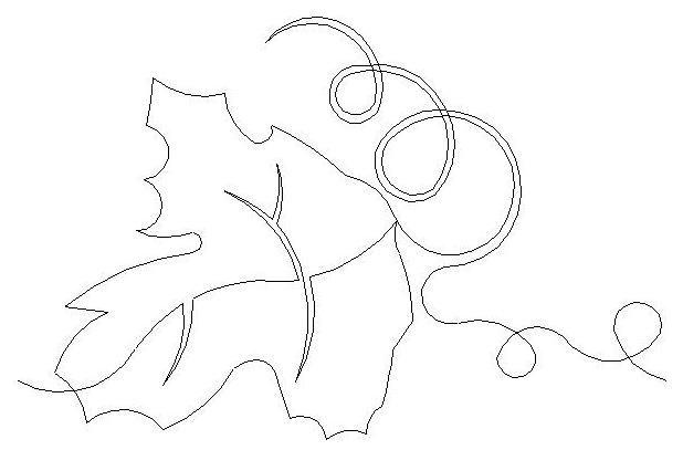 Leaf Drawing, Wine Leaves, Leaf Template