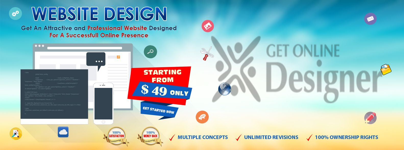 Get An Attractive And Professional Website Designed For A Successful Online Presence Websitedesigncompani With Images Professional Website Design Website Design Services