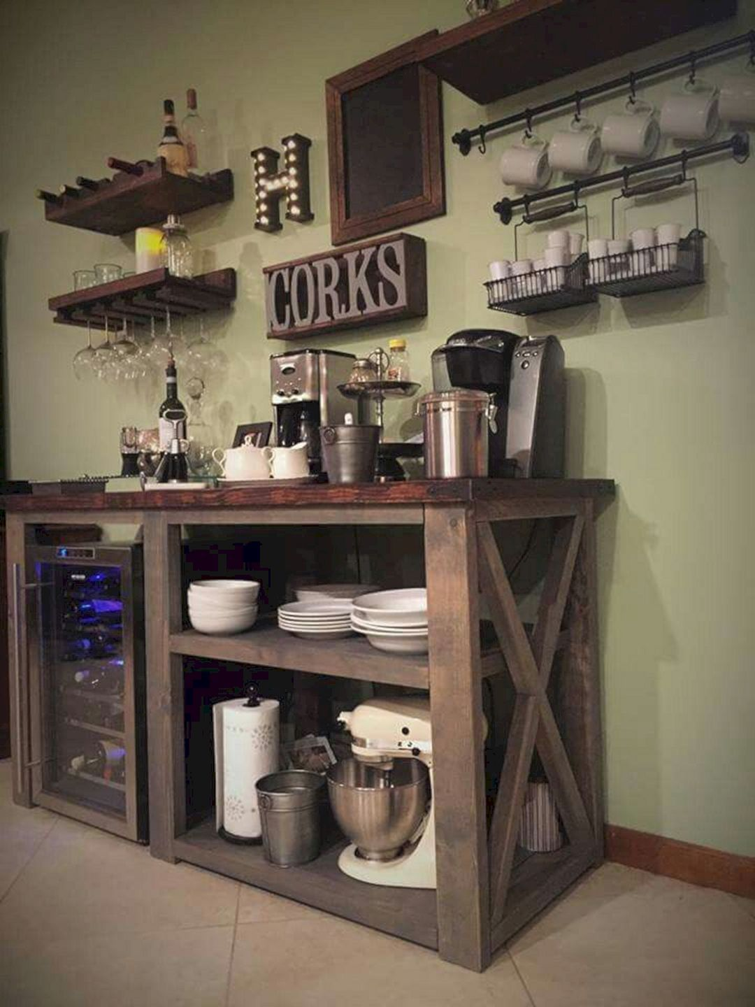 Nice 24 Best Corner Coffee Wine Bar Design Ideas For Your Home  Https://24spaces.com/furniture/24 Best Corner Coffee Wine Bar Design Ideas  For Your U2026
