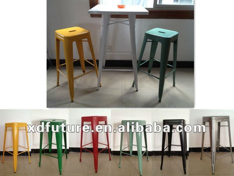 Colorful barstools colorato xd ferro sgabello da bar