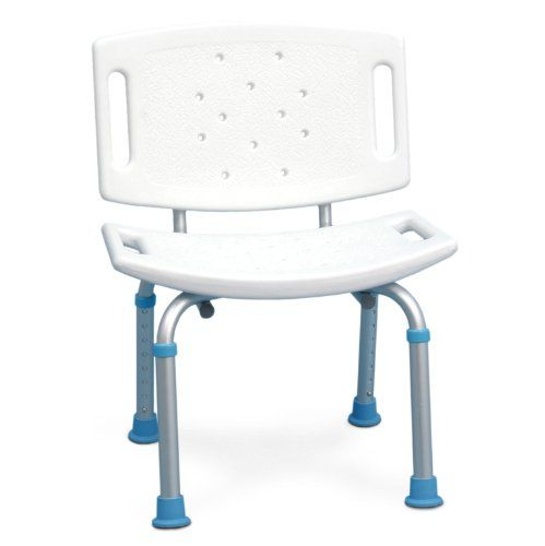 Aquasense Adjustable Bath And Shower Seat With Non Slip Seat And Backrest White Aquasense Http