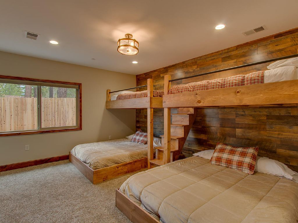 The Kids Will LOVE These Bunk Beds In This Lake Tahoe