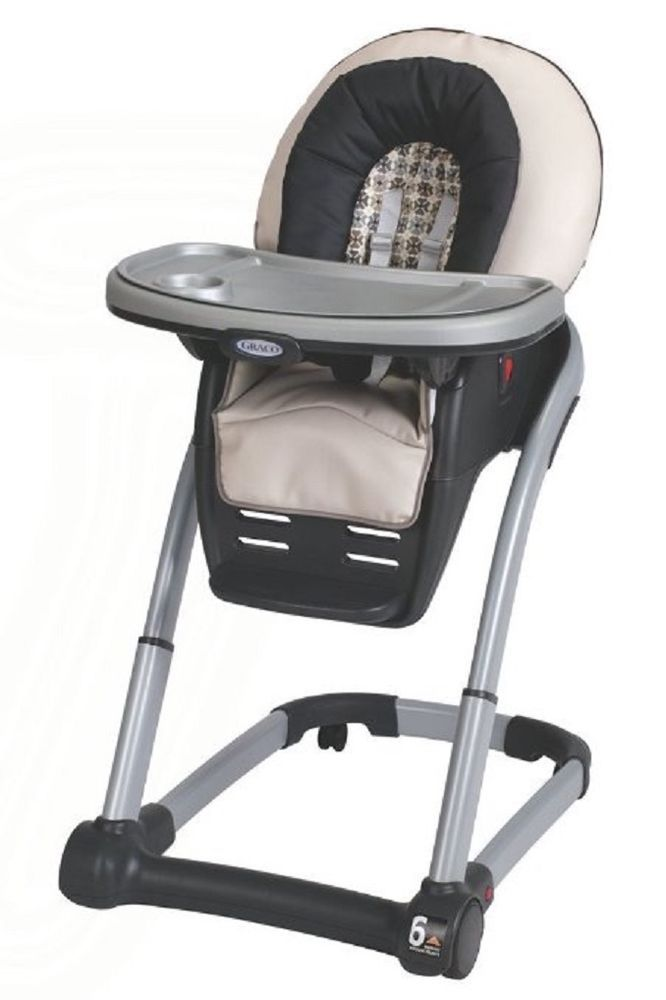 4 In 1 Graco High Chair Baby Seat Feeding Table Toddler Portable Safety Compact