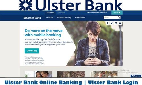 Ulster bank online banking ulster bank login tecteem bank byline bank is an american financial institution based in chicago that offers financial services such as accounts loans business banking credit cards etc reheart Choice Image