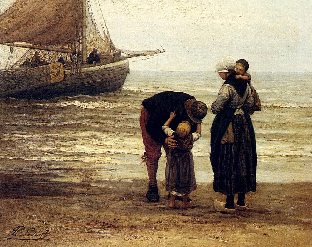 A Fishermans Goodbye  by Sadee Philippe