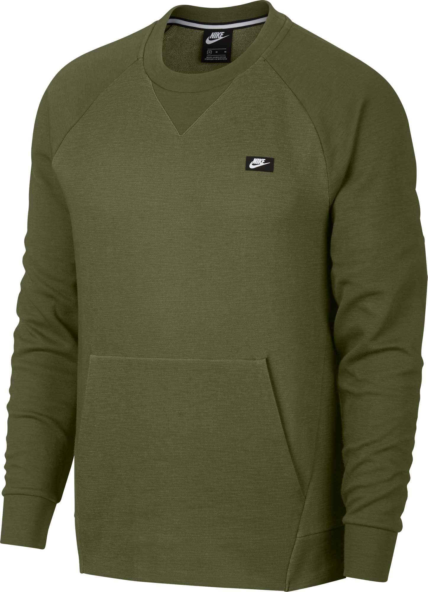Nike Sportswear, Nike Optic Fleece Sweatshirt, grau | mirapodo