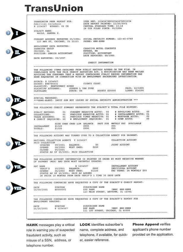 Credit Report Sample Equifax Credit Report Pdf credit report – Credit Sample