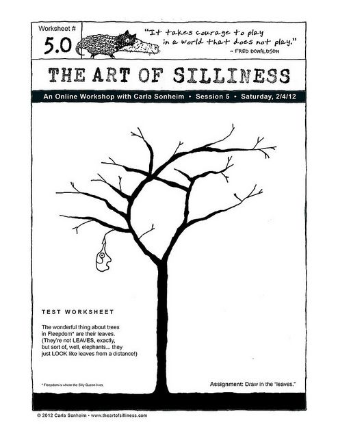 The Art Of Silliness Art Worksheets 6th Grade Art Art Handouts 6th grade art worksheets