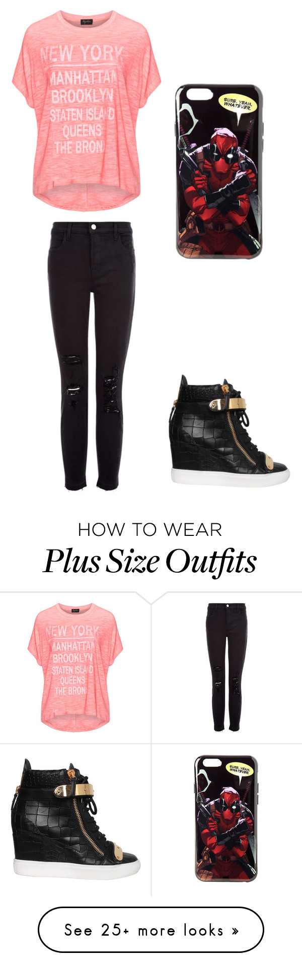 """Untitled #366"" by larisatwilight on Polyvore featuring Replace, J Brand and Giuseppe Zanotti"