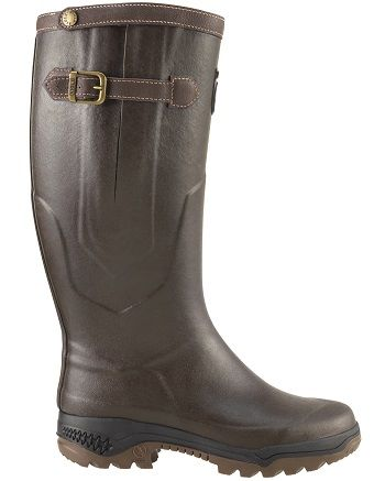 Aigle Parcours 2 Signature Boots The Parcours 2 Signature Boot has a robust  design which features