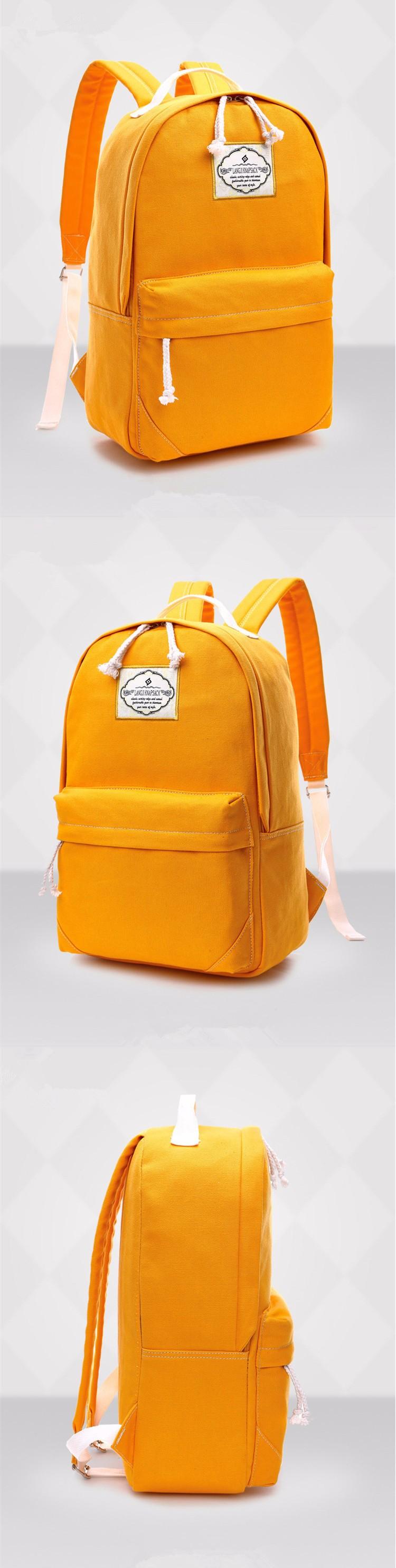 vintage fashion canvas backpacks for teenage girls middle school
