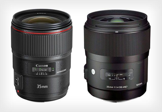 Shootout The Canon 35mm F 1 4l Ii Versus The Sigma 35mm F 1 4 Art Canon 35mm Sigma Canon
