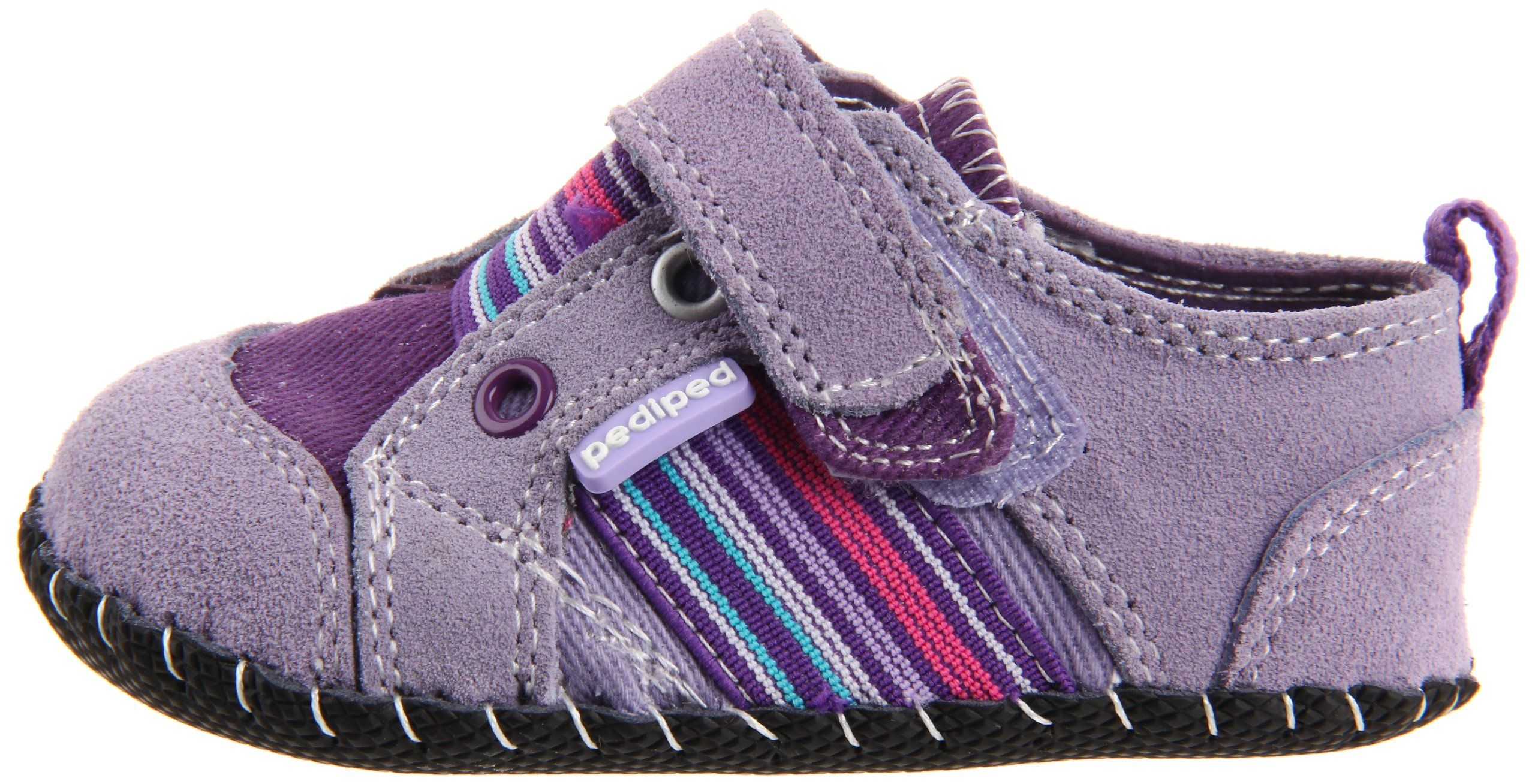 pediped Originals Jones Sneaker Infant Toddler Lavender Extra