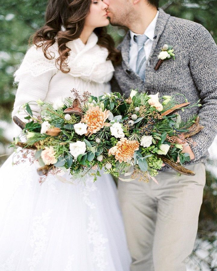 21 Wedding bouquet ideas for winter that will inspire you