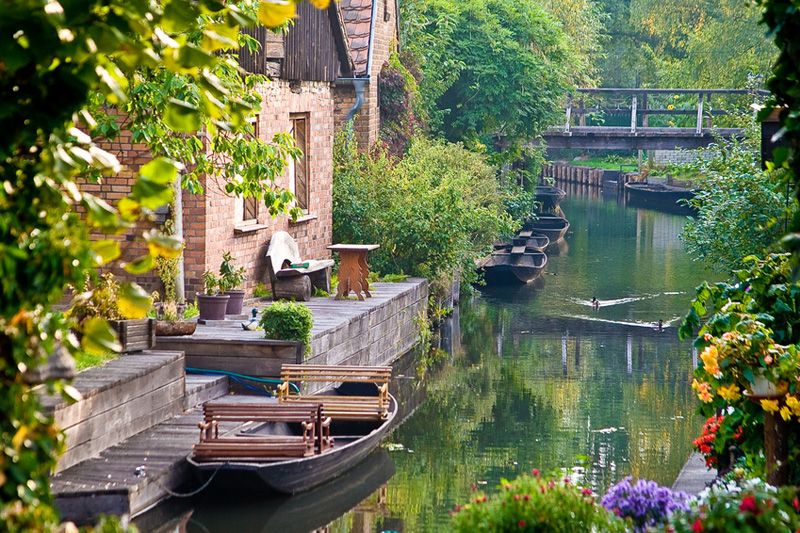 spreewald germany this is so beautiful and serene i could imagine myself there and being one. Black Bedroom Furniture Sets. Home Design Ideas