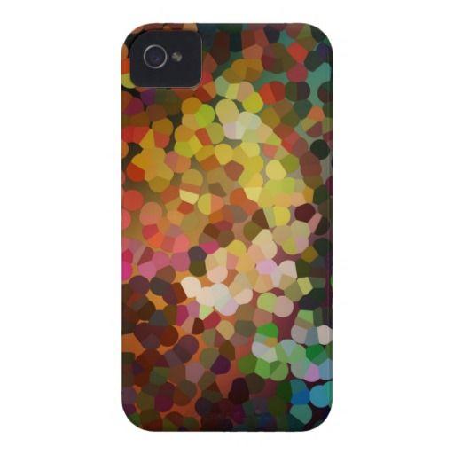 Autumnal Impressionistic Sparkling iPhone 4 Case