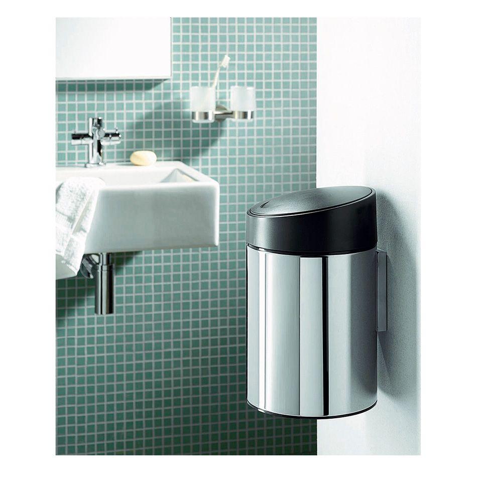 Touch Bin Blokker.Brabantia Afvalemmer Slide Bin 5 L Blokker Apartment Inspiration