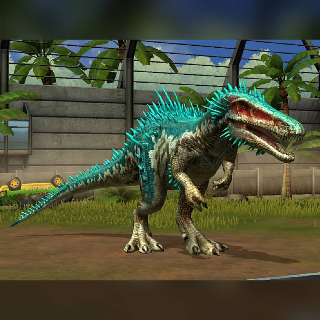I Brought You Not Only The Nodosaurus But The Baryonyx Too