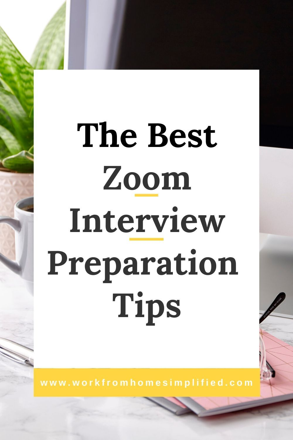 5 tips for a great zoom or skype interview with images