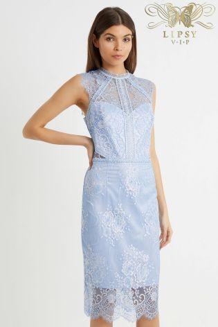 ff23b75ae3 Lipsy VIP Lace 2 Tone Bodycon Dress | Wedding Looks | Dresses, Lipsy ...