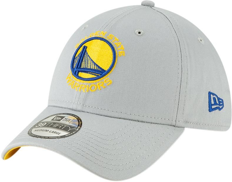 c61064e4cb7 Golden State Warriors New Era 3930 NBA Team Stretch Fit Grey Cap – lovemycap