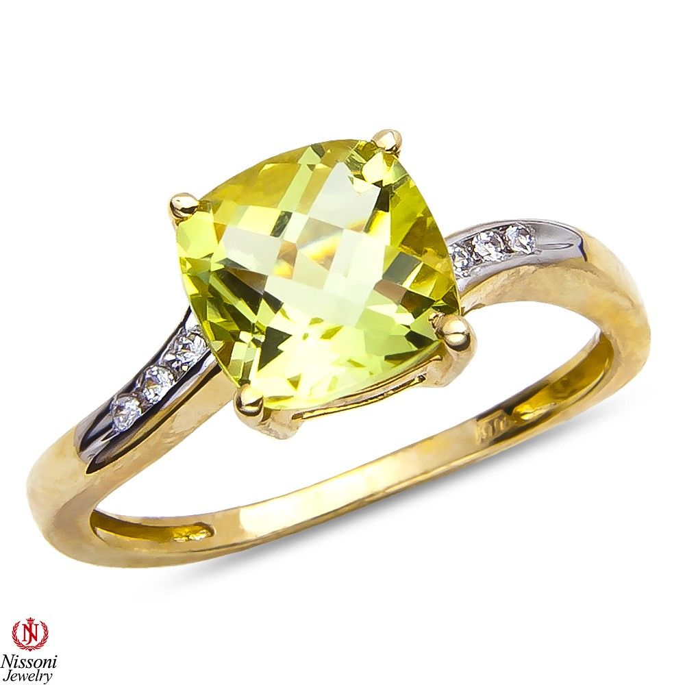 Ebay NissoniJewelry presents - Ladies .045CT Diamond Fashion Ring with Lemon Quartz in 10k Yellow Gold    Model Number:FRV4314A-T077LMQ    http://www.ebay.com/itm/Ladies-.045CT-Diamond-Fashion-Ring-with-Lemon-Quartz-in-10k-Yellow-Gold/221630396273