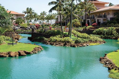 Marriott S Waiohai Beach Club 231 Unit Ocean Front Resort Right On Poipu