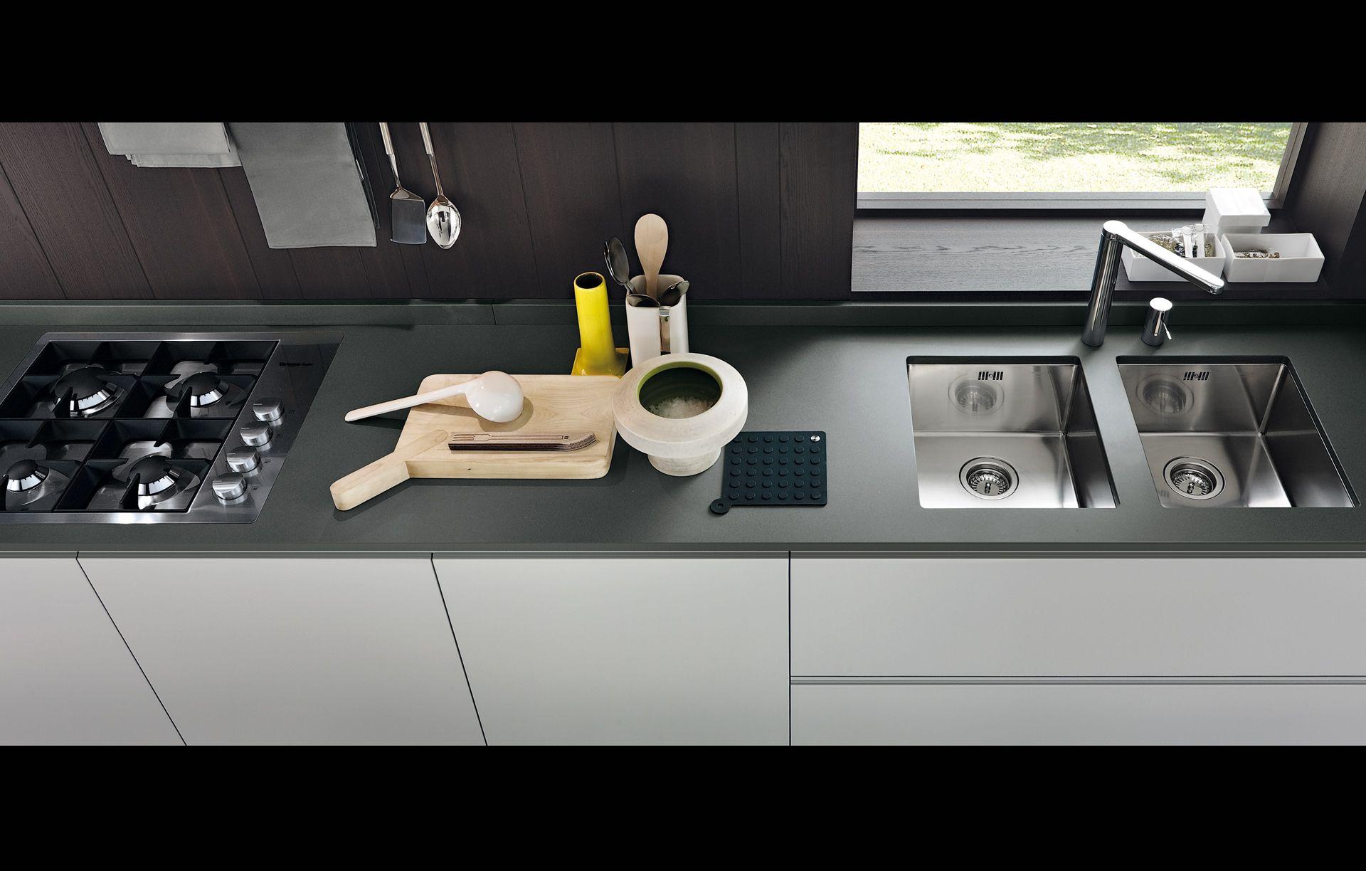 poliform- varenna kitchen | h&d- kitchen | pinterest | sands, grey ... - Varenne Cucine