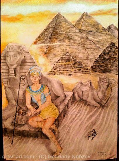 Artwork >> Gennady Kobzev >> Princess of Egypt