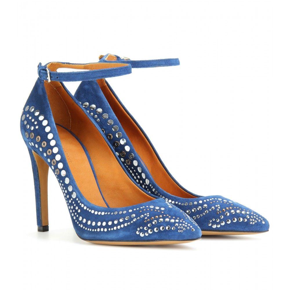 381610f491 Isabel Marant - STANLEY STUDDED SUEDE PUMPS   Shoes - Heels   Suede ...