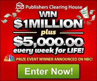 Publishers clearing house giveaway number 8800