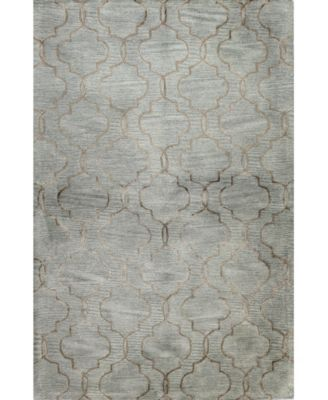 Macys Fine Rug Gallery Bordeaux Milazzo Light Blue 86 X 116 Area