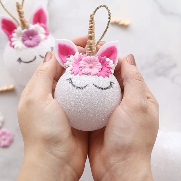 Photo of Unicorn Ornaments – Easy DIY Tutorial! – The Best Ideas for Kids