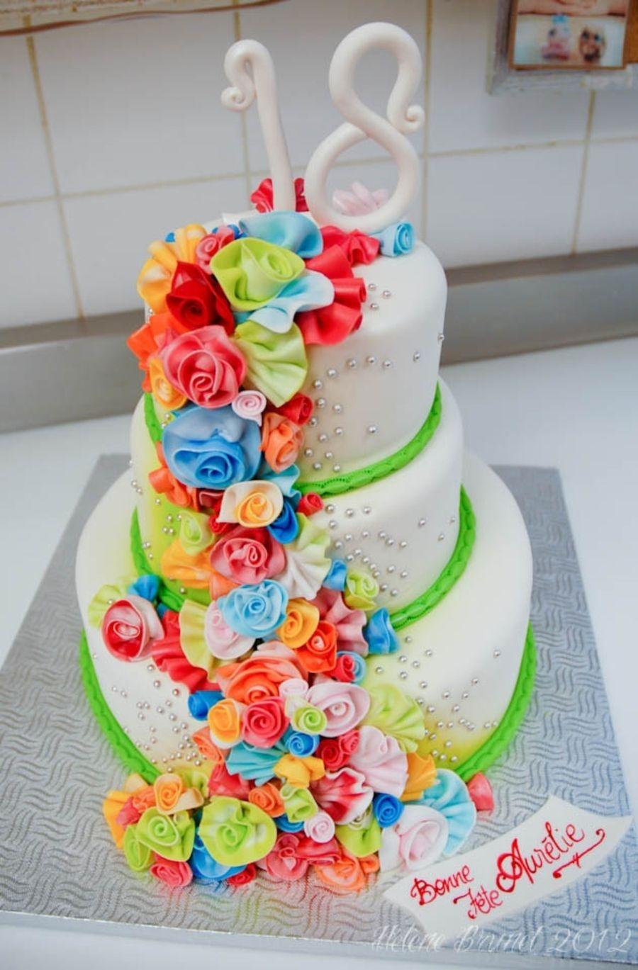 18th birthday cake decorations