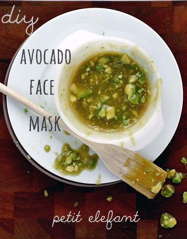 Homemade Dry Skin Avocado Rescue Facial!!