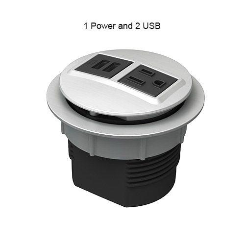 Node 1 Power 2 Usb Port Desk Grommet Outlet Icon Desk Grommet Grommets Desk
