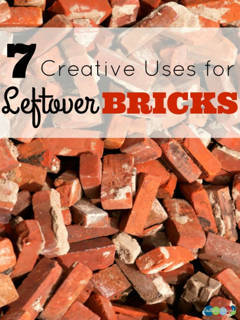 7 creative uses for leftover bricks gardening ideas