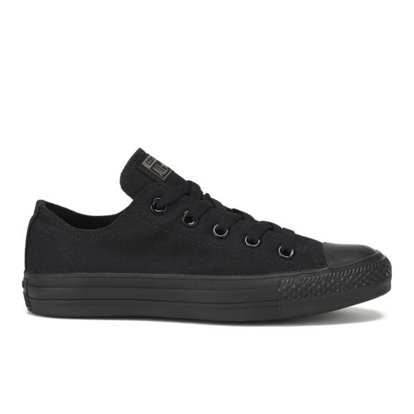 15e10da7b73 Converse Chuck Taylor All Star OX Canvas Trainers - Black Monochrome ...