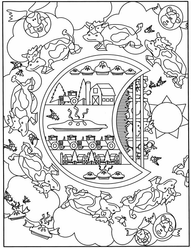 Free Sample from Dover Publications-Out of This World!:Designs to ...