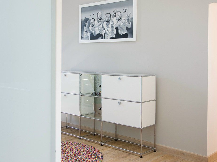 USM HALLER CREDENZA FOR LIVING ROOM Modular sideboard by USM ...