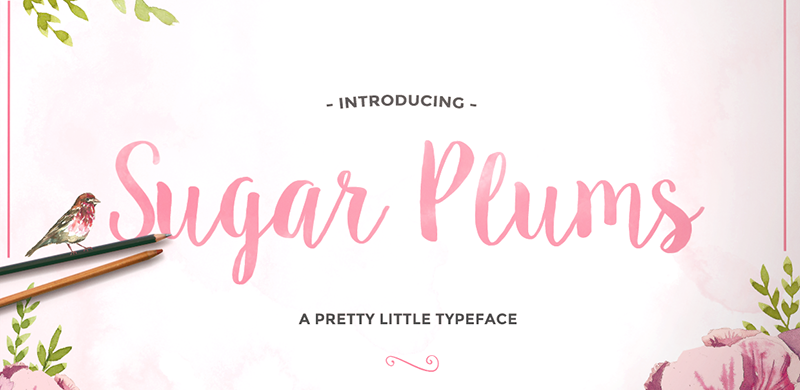 TUESDAY FONTS Adelicia, Sugar Plums and Catfish How to