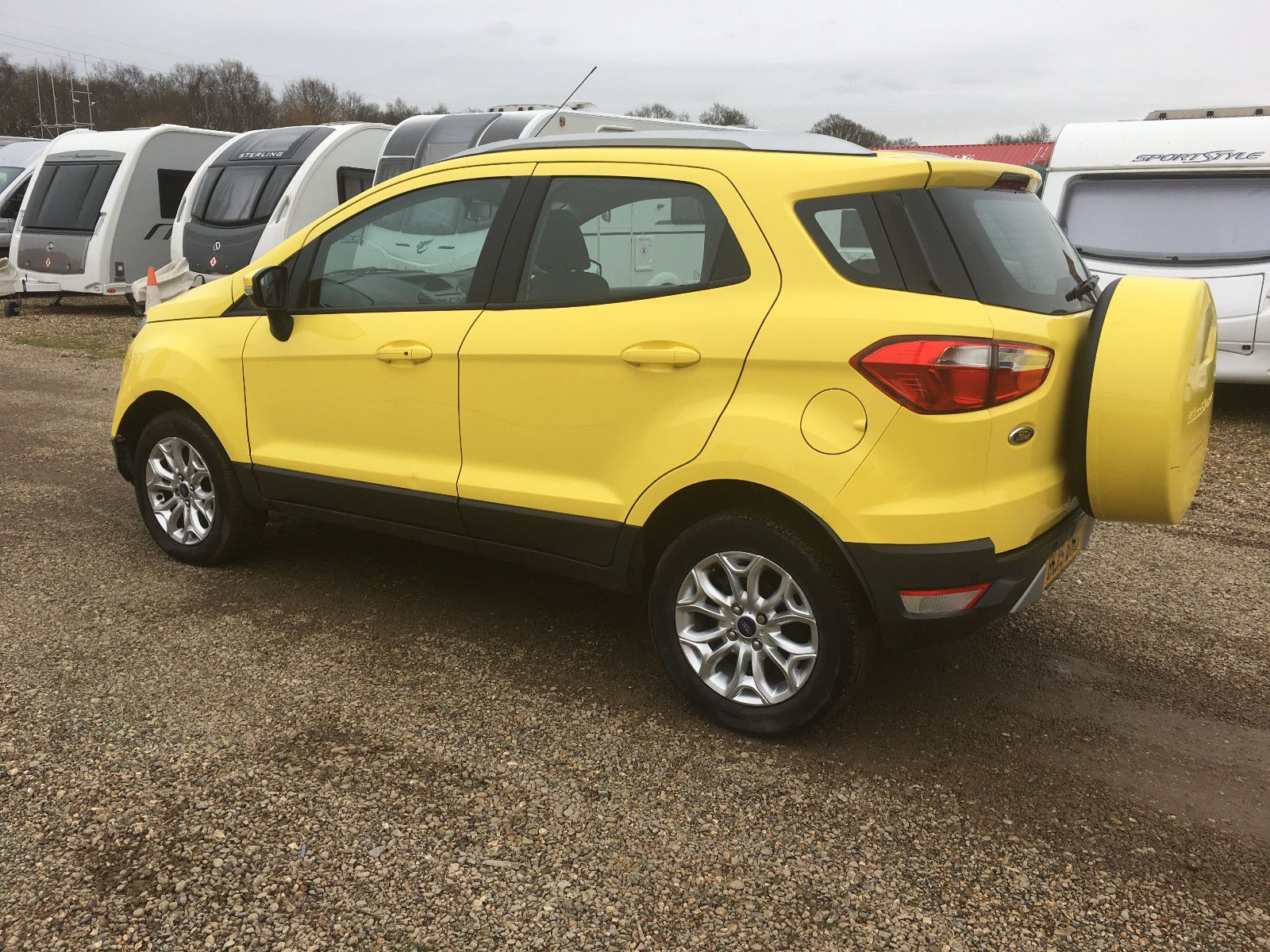 2015 Ford Ecosport Titanium Yellow Cat D Salvage Damaged Repair Logbook V5 Suv Ford Ecosport Yellow Cat Vauxhall Astra
